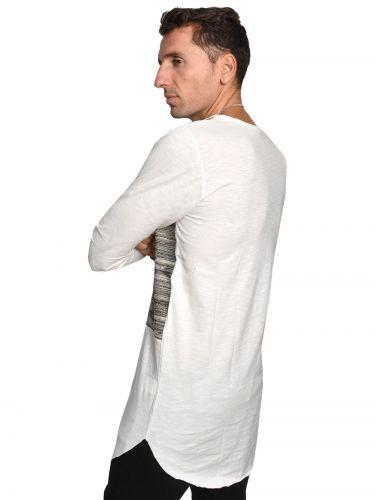 Xagon Man ασύμμετρη μπλούζα MPV1021 λευκή