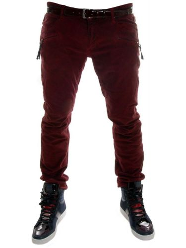 Just Cavalli trouser S03KA0048 N36329 claret