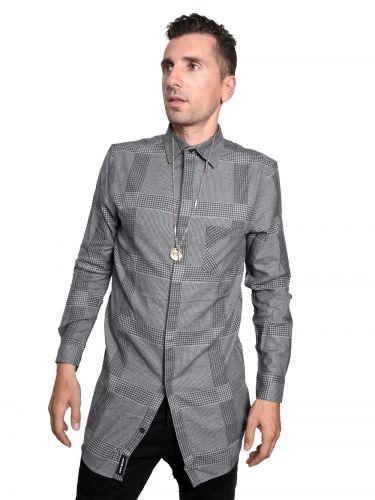 CHEAP MONDAY πουκάμισο 0336492-202 λευκό-μαύρο