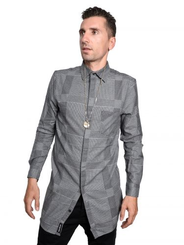 CHEAP MONDAY shirt 0336492-202 white-black