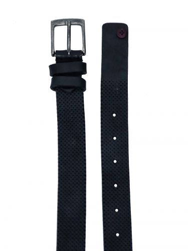 GAD ACCESSORIES leather belt B283/1 black