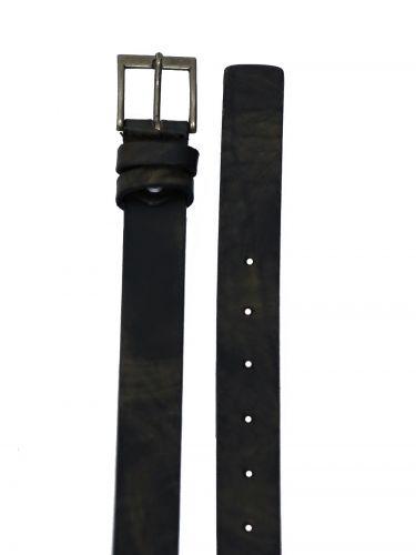 GAD ACCESSORIES leather belt B267/1 olive