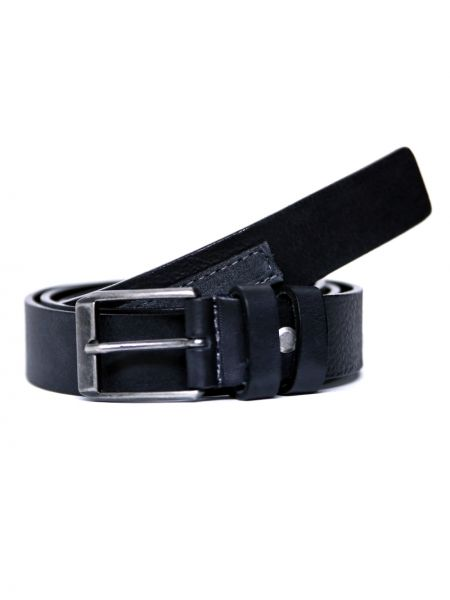 GAD ACCESSORIES leather belt B257/1/02 black