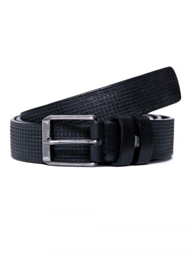 GAD ACCESSORIES leather belt B264/1/30 black