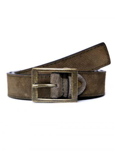 GAD ACCESSORIES leather belt B278/1 beige