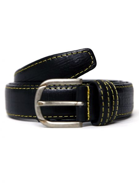 GAD ACCESSORIES leather belt B255/1/11 black