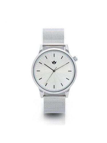 WATCHME ρολόι INSPIRATION 01-0168.3 ασημί μεταλλικό λουράκι-ασημί καντράν