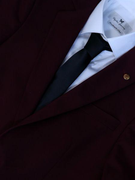 GAD ACCESSORIES γραβάτα PLTIEX16-10 μαύρη
