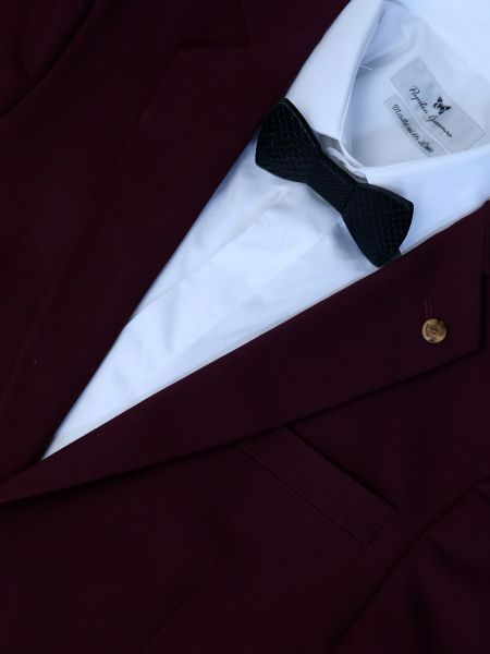 GAD bow tie PLBOWTIEX16-08 black