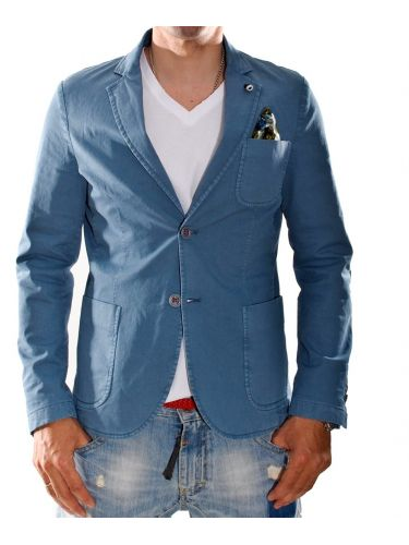 Yoshakira  Suit jacket CILE blue