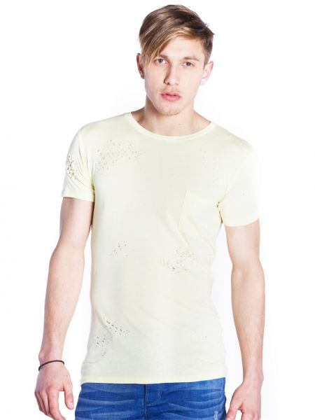 THE PROJECT t-shirt HC09JR8011MO yellow