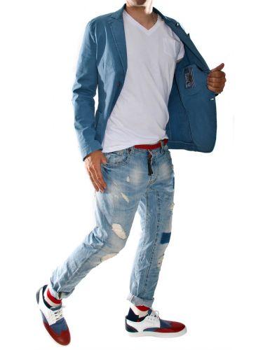Yoshakira  Suit jacket CILE blue