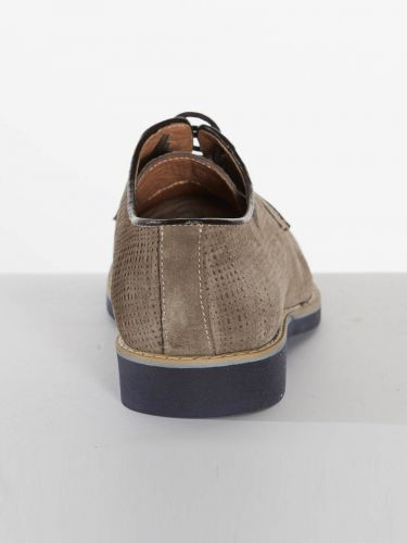 Philippe Lang suede shoes 1952/YUTA/U17 grey