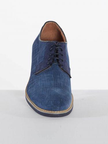 Philippe Lang suede shoes 1952/YUTA/U17 blue
