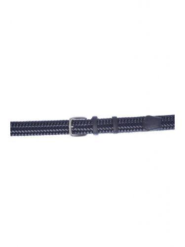 Gad Accessories πλεκτή ζώνη B295/1 μπλε μαρίν