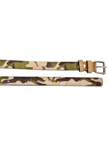 GAD leather belt S405/1/S212 beige military