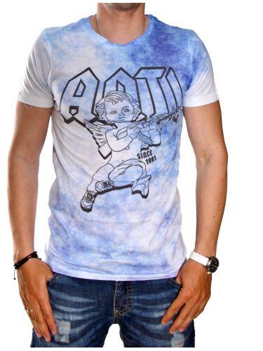 Anticulture T-shirt Pain Acid Wash