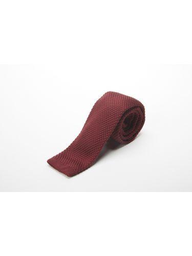 GAD ACCESSORIES γραβάτα PLTIEX17-08 μπορντό