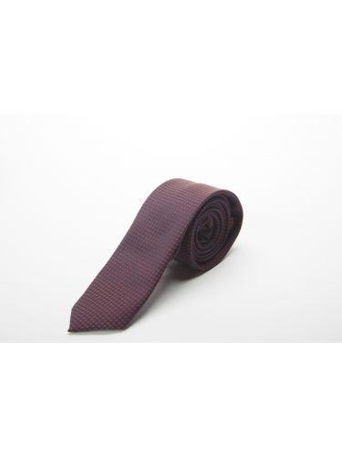 GAD ACCESSORIES γραβάτα PLTIEX17-30 μπορντό