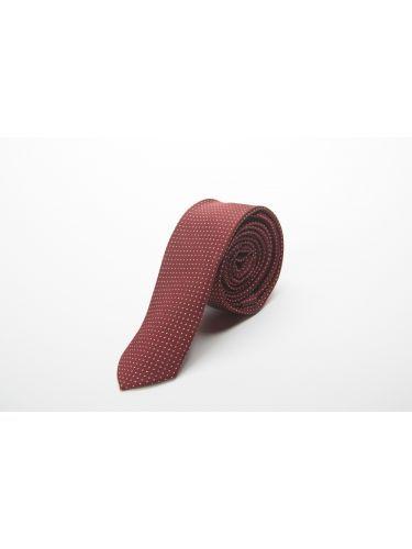GAD ACCESSORIES γραβάτα PLTIEX17-22 μπορντό