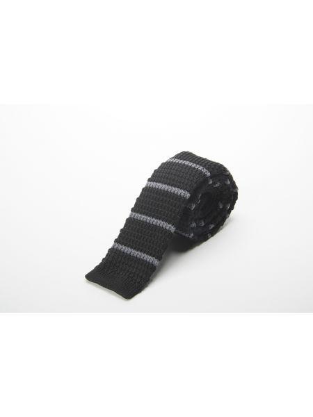 GAD ACCESSORIES γραβάτα PLTIEX17-10 μαύρο-γκρι
