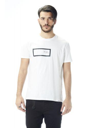 YES LONDON t-shirt XM3642 λευκό
