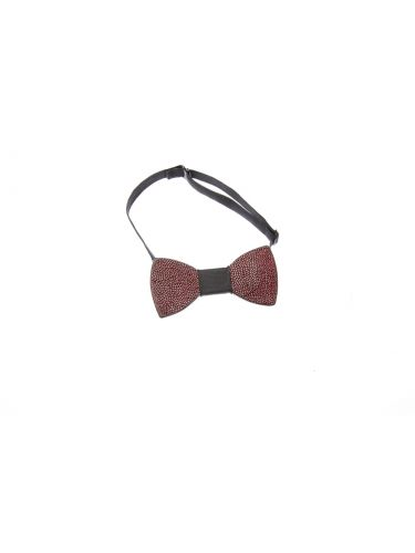 GAD ACCESSORIES PLBOWTIEX17-12 bordeaux