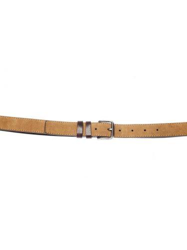 GAD ACCESSORIES leather belt B437/B424/1 brown