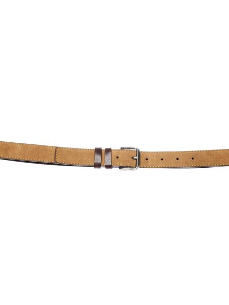 GAD ACCESSORIES leather belt B437/B424/1 brown