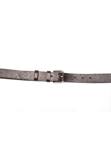GAD ACCESSORIES leather belt B452/1 dark brown