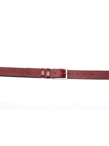 GAD ACCESSORIES leather belt B436/30/1 bordeaux