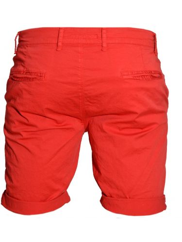Xagon chino shorts BBC8 red