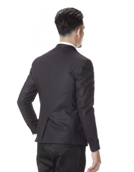 I AM BRIAN σακάκι GIA20/151 μαύρο