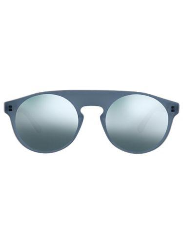 WEAREEYES γυαλιά ηλίου ATOM GREY γκρι σκελετό-γκρι καθρέφτη φακό