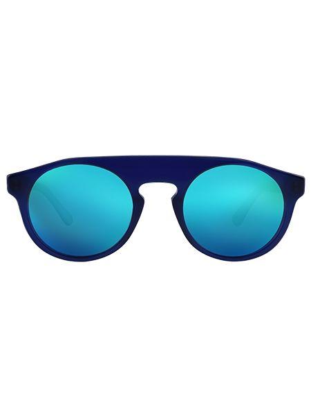 WEAREEYES γυαλιά ηλίου ATOM BLUE μπλε σκελετό-μπλε καθρέφτη φακό
