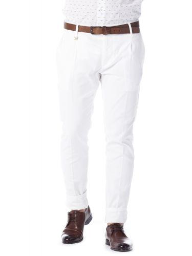 PAPILIO GARAMAS chino παντελόνι PP-195000/10 λευκό