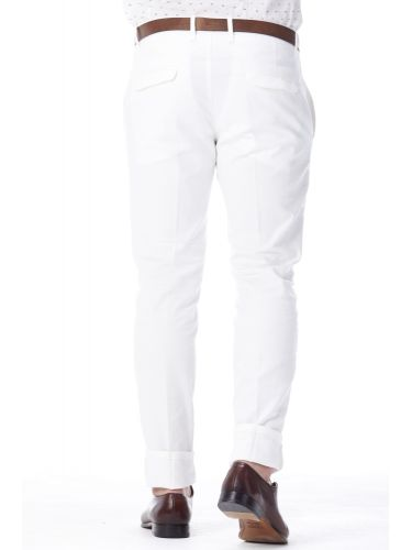 PAPILIO GARAMAS chino trouser PP-195000/10 white