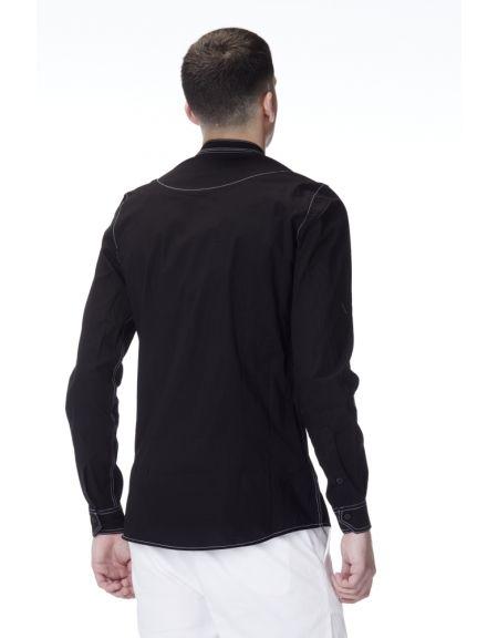 P/COC πουκάμισο P/619 μαύρο