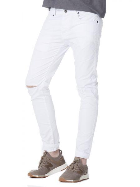 VITTORIO ARTIST πεντάτσεπο παντελόνι FRANKIE λευκό