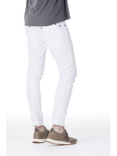 VITTORIO ARTIST five pocket trouser FRANKIE white
