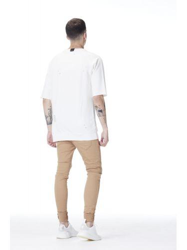 PROJECT X PARIS παντελόνι πεντάτσεπο 88180032 μπεζ