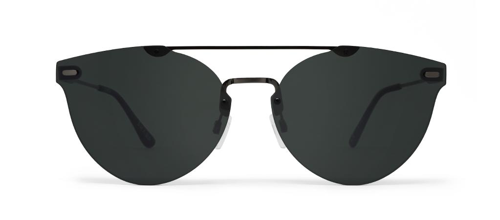 WEAREEYES sunglasses SHARP Anthracite skeleton-black mirror lens -  CENTROstile.gr 22221b28359