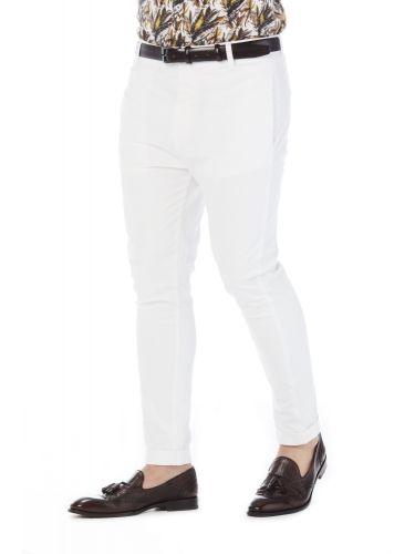 PAPILIO GARAMAS chino παντελόνι PP-2020/16 λευκό