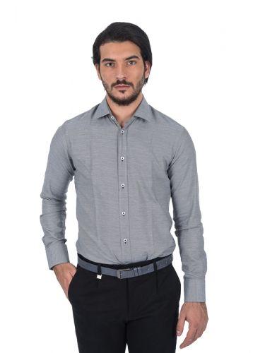 PAPILIO GARAMAS πουκάμισο PG-600/2656 γκρί