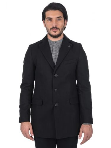 BESILENT MAN coat BSCT0040 black