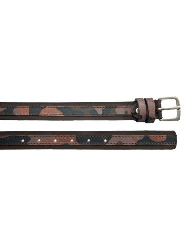 Gad belt S476/1 brown military