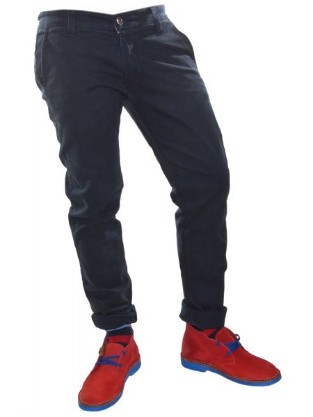 Trez παντελόνι τσίνος M31472 μπλε