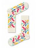 HAPPY SOCKS κάλτσες BRU01-1000 off-white