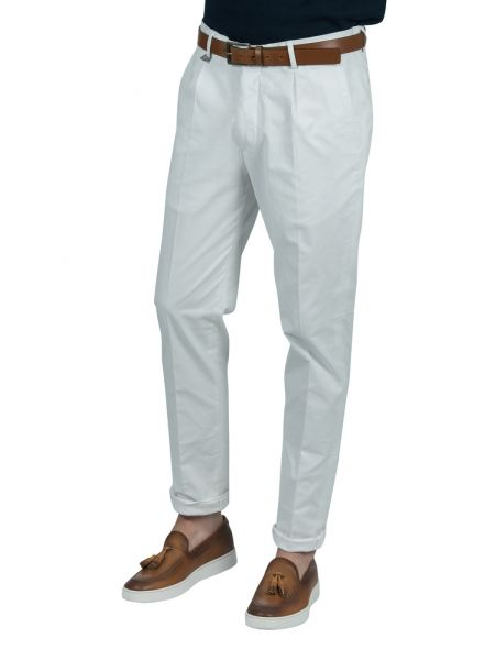 GUARDAROBA chino pants PPP-101/01 white