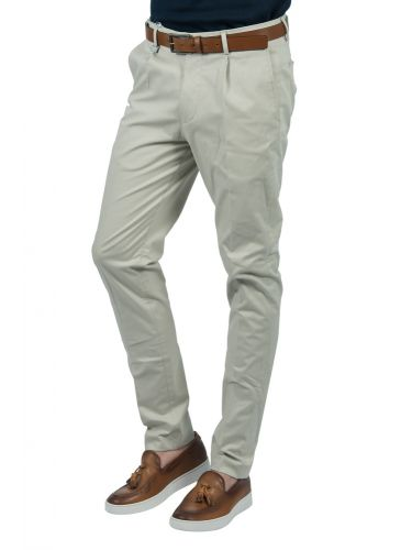 GUARDAROBA chino pants PPP-101/02 ecru
